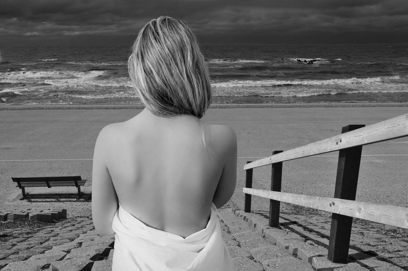 Het meisje en de zee