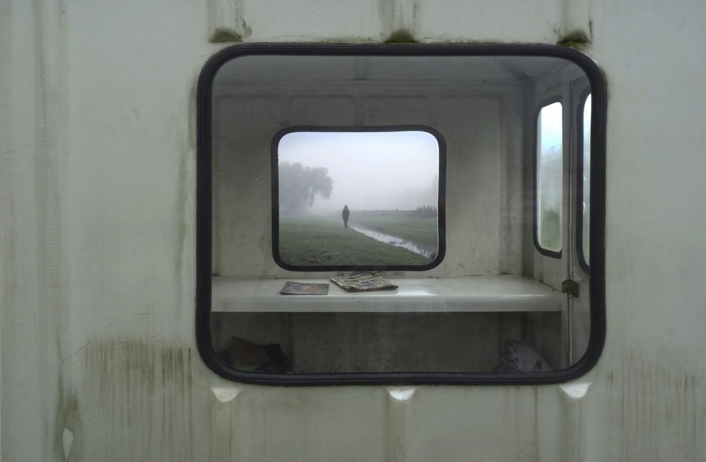 Doorkijk caravan